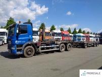 DAF FAT CF 85.360 6X4 - nosič kontejnerů - prodejné jen s přívěsem P0307W - cena je za celou soupravu