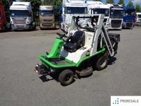 Traktorová sekačka ETESIA HYDRO 124DN + mulčovací sekač MCM 144