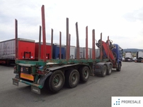 OSTATNÍ LEMEX NTZ 33 pro přepravu dřeva - prodejné jen s tahačem S0310Z - cena je za celou soupravu