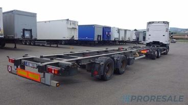 ACKERMANN Z-EAF 18-7,8/100 TE BDF - prodejné jen s vozidlem SCANIA S0408Z - cena je za celou soupravu